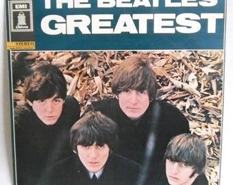 The Beatles-Greatest-EMI C062-04207-vinyl record