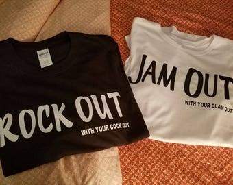Shamrock Out With Your Cock Out Tshirt
