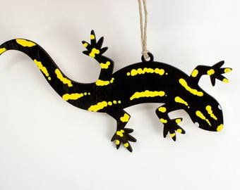 Fire Salamander Christmas Ornament