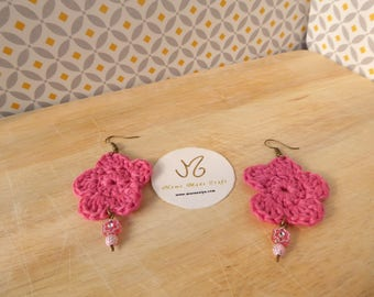 Crochet jewelry - earrings - Earrings