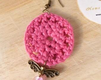 Earrings ROSES - PINK Earrings