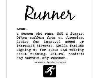 Runner's Card - Runner Definition
