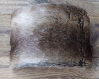 LAMPSHADE 60 Brown faux fur