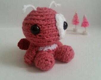 Pre-Order Lovebug Crochet Stuffed Animal Amigurumi