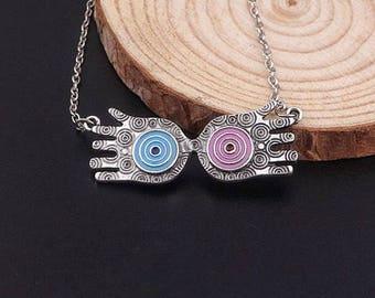 Luna Lovegood Harry Potter inspired necklace