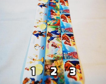 Choice of Beauty and the Beast Disney Lanyard