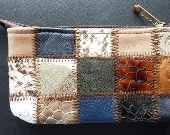 Mini Handmade Genuine Leather Purses,Christmas Gift, Gift for Her, Handmade Gift, Handcrafted Gift