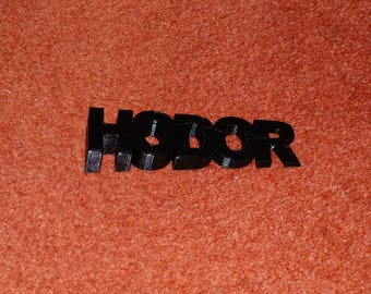 HODOR DOOR STOP - Game Of Thrones - #got