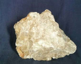 Selenite Crystal Quartz Cluster / LARGE Selenite Rock Mineral Zen Garden Altar Stone / Meditation Healing Crystal Natural Selenite Gemstone