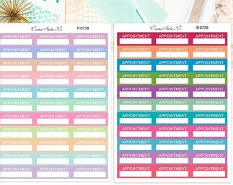 Appointment Planner Stickers – 0739