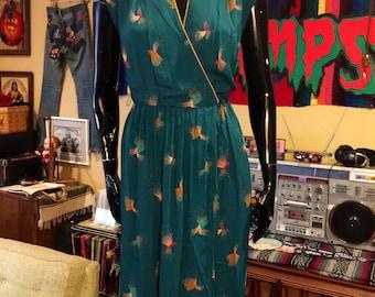 Vintage 1970's Sheer Dress