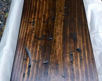 Rustic Distressed Wood Shelving Planks