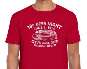 10 Cent Beer Night Cleveland Indians Funny Tee Shirt 2018 Tribe Playoff World Series Santana Lindor CLE BaseballJersey