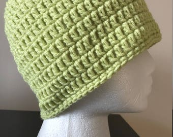 Basic Beanie Hat/Skullcap - Light Green