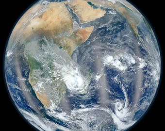 Poster, Many Sizes Available; Africa And Middle East From Space