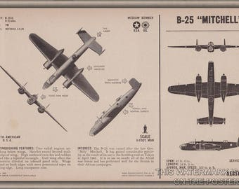 Poster, Many Sizes Available; B-25 Mitchell P2