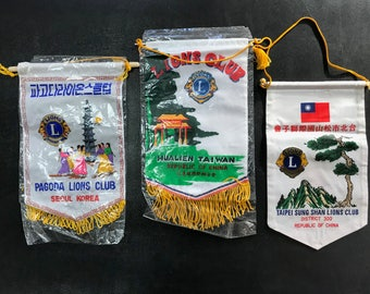 Lions Club International Banners Korea China 3 Available