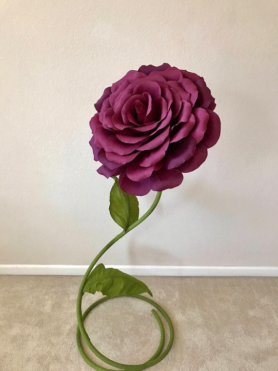 items similar to free standing paper flower  giant paper