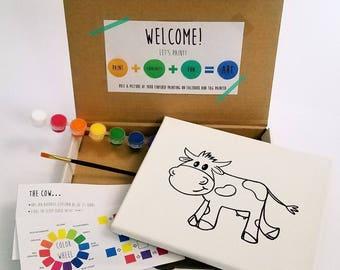 Cow Paint Kit