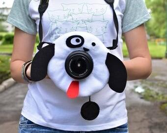 Dog, Puppy, camera buddies, lens bling, photographer helper.