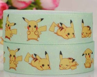 Pokemon pikachu Ribbon (1 m) 22mm