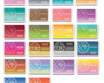 Full Set of 22 Hero Arts Ombre Ink Pads