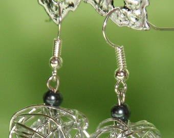 Metal ball Stud Earrings