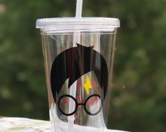 Harry Potter tumbler / harry potter gift / harry potter cup / harry potter / christmas gifts / gifts for her / gifts for him
