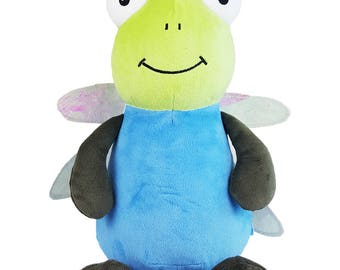 Dragon Fly-personalised toy, plush toy, baby toy, christmas, birthday, baby shower, soft toy, wedding, kids, baby, boyfriend, mum, dad