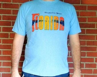1980's Florida t-shirt Panama City Beach vintage vacation tee XL