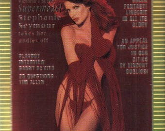 MATURE - Playboy Trading Card Chromium Cover Cards III - #298 February 1993