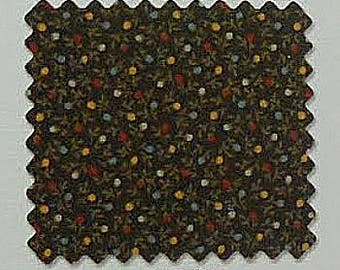 P&B Textiles Flying Geese by Washington St. Studio 1880's Reproduction Brown Geometric - 946Z