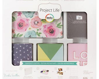 Project Life Journal Cards- Snapshot Edition