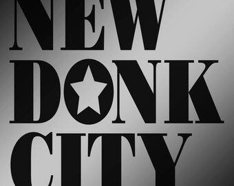 NEW DONK CITY Vinyl Decal - Nine Color Choices! - Super Mario Odyssey