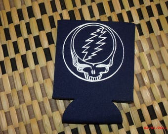 Grateful Dead Stealie Coozie Grateful Dead Steal Your Face Coozie Comes in Green, Red and Blue.