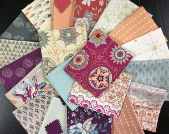 Soulful Full Fabric Collection - Maureen Cracknell - Art Gallery Fabrics - 20 Fat Eights or 20 Fat Quarters or 20 Half Yards