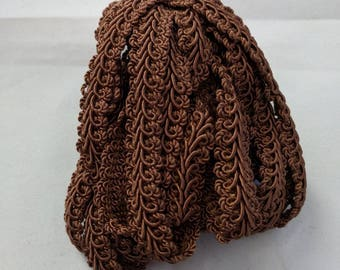 "French Gimp -  1/2"" Brown Trim - Renaissance Faire - Victorian"