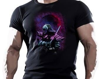 Bushido Warrior mma fighting workout motivation mens t-shirt