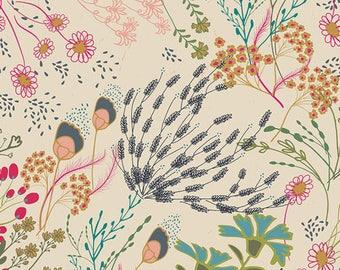 Indie Folk by Art Gallery - Meadow Vivid - Cotton/Spandex Knit
