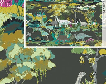 Esoterra by Art Gallery Fabrics - Dinosauria - Cotton Woven Fabric