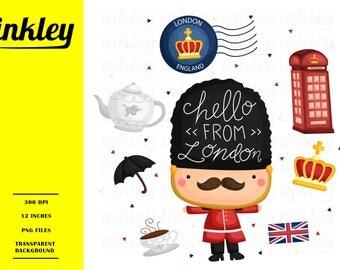United Kingdom Clipart, United Kingdom Clip Art, United Kingdom Png, UK Clipart, England Clipart, British Clipart, Tea Clipart, Soldier