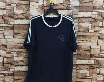 Vintage!!! POLO JEANS t shirt.. ralph lauren clothing.. small logo spellout.. big size XL.. vintage t shirt