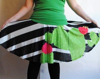 Cactus Skater Skirt