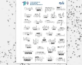 Slate Typography Sampler [265]