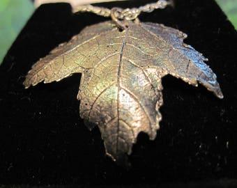 Fine Silver Maple Leaf