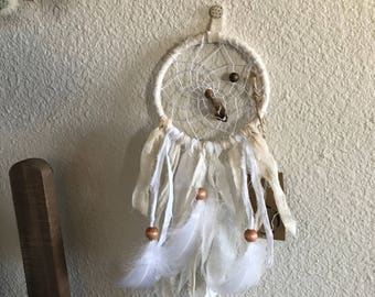 Mini Natural Cotton Bohemian Dreamcatcher