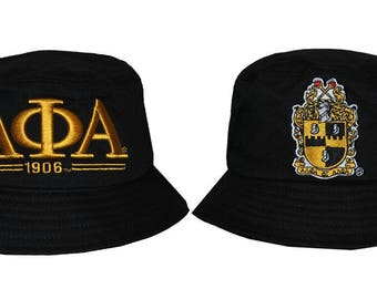 Alpha Phi Alpha - Bucket Hat, 59 inches