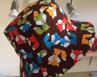 Handmade Boys Bucket Sun Hat Ann Kelle Foxes