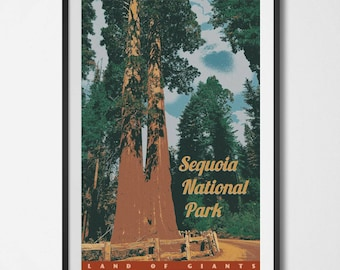 Sequoia National Park Poster 11x17