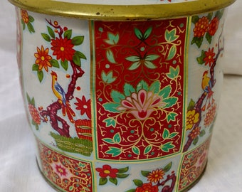 Vintage DAHER Tin with Lid